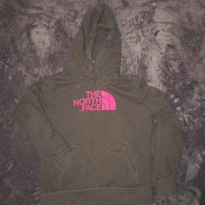 North face hooded sweatshirt